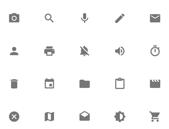 Material Design > Icons · Issue #293 · google/web-starter