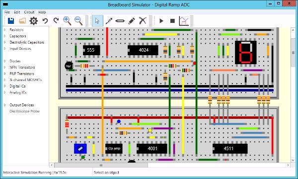 Digital Ramp ADC Screenshot