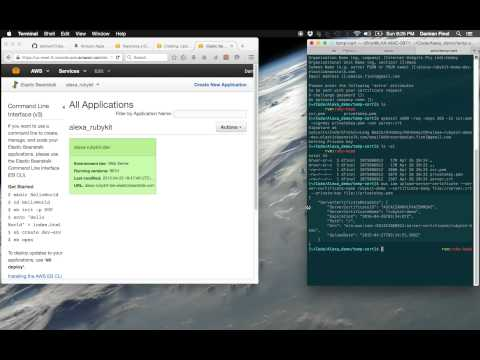 Running a sample Rubykit Demo