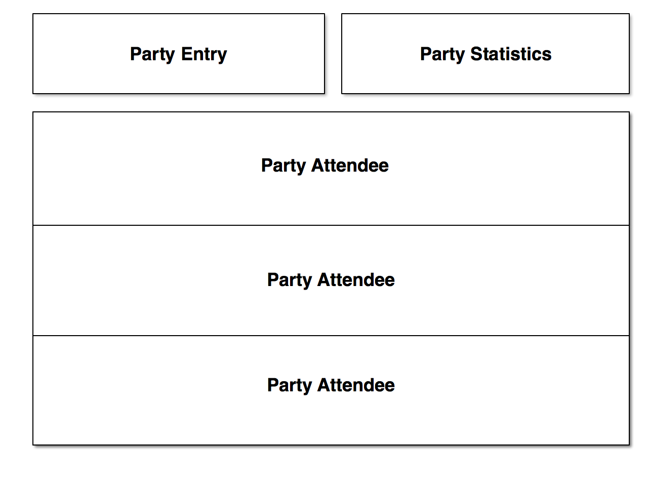 party-planner layout