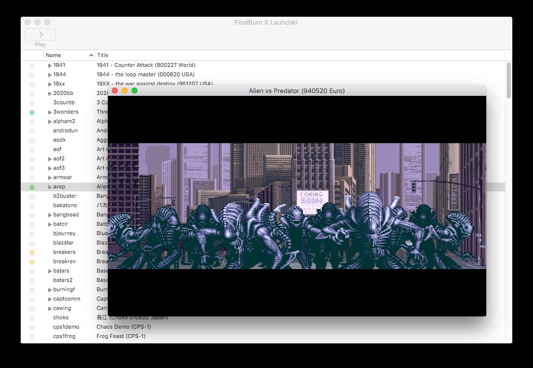 GitHub - 0xe1f/FinalBurn-X: Capcom System I, II, III and SNK Neo Geo