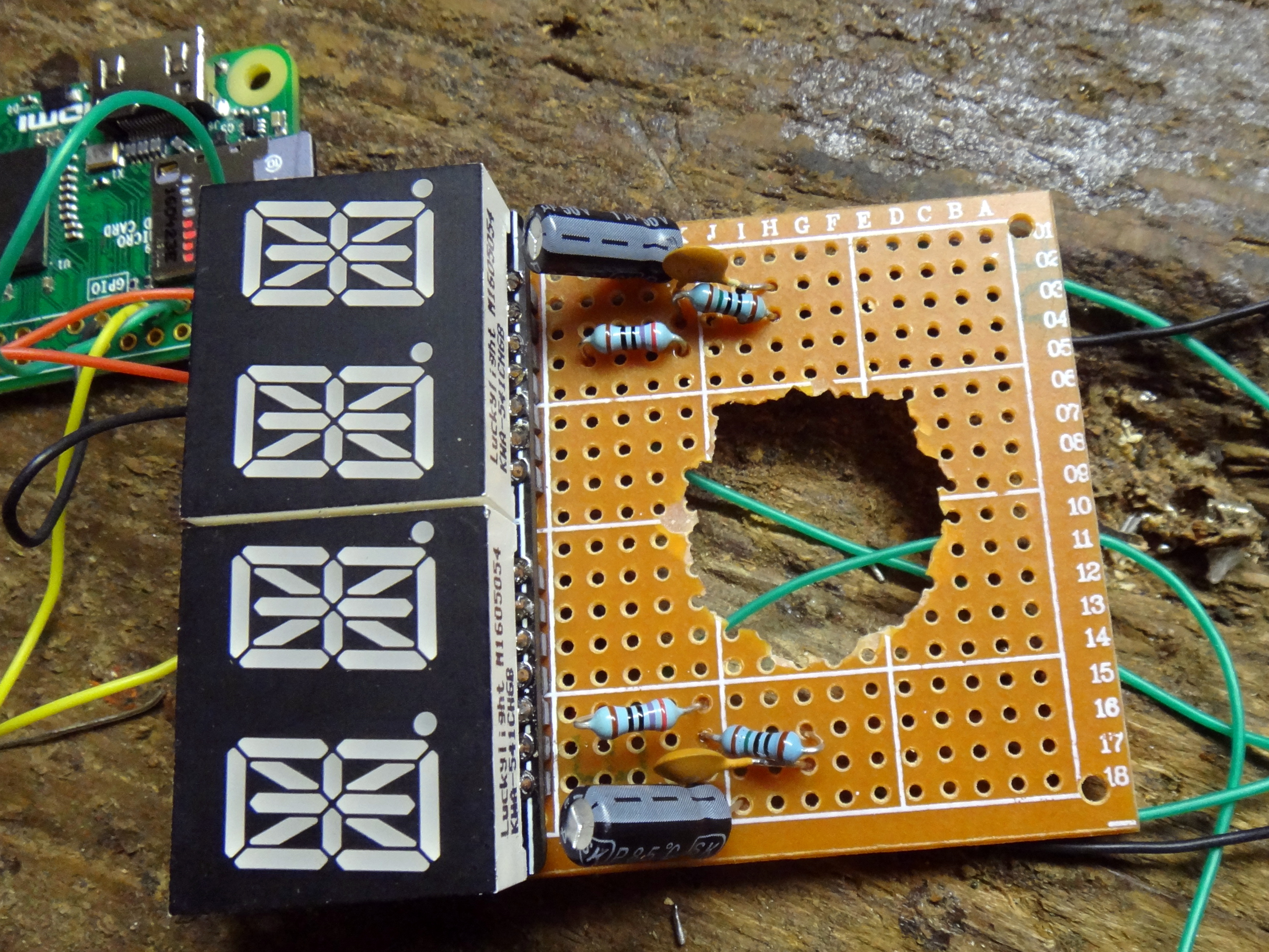 4 Enable Audio Via Pwm Fgebhart Smart Alarm Wiki Github Circuit Connected We Can Go Ahead And Add Some Code For Our Raspberry Once You Are Done Your Should Look Something Like The Next Picture Green Wires At Bottom One Coming From