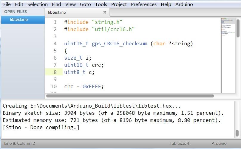 Arduino Hex File To Ino