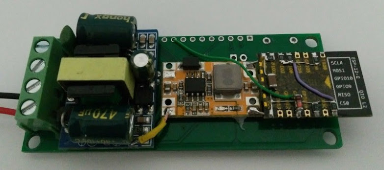 GitHub - apreb/eNode: Device to measure energy and temperature