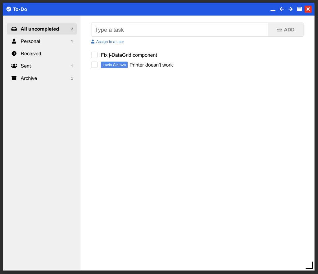 OpenPlatform To-Do app