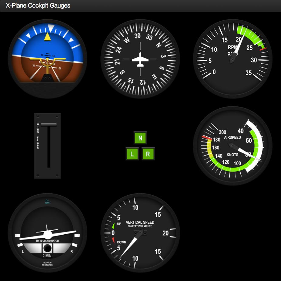 GitHub - dmolin/flightSimPanels: Flight Simulator Instrument