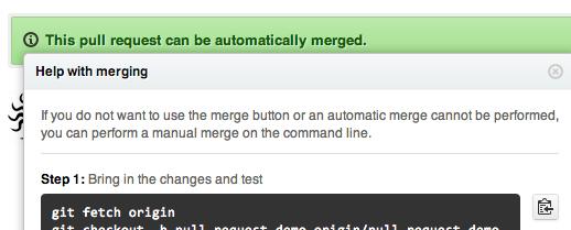 Merging Instructions