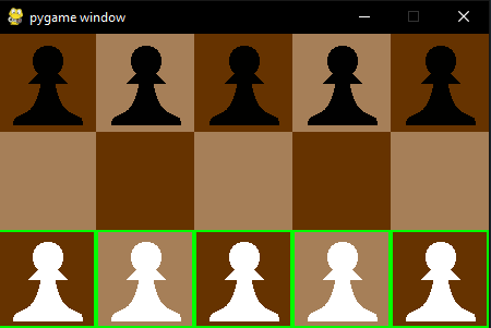 GitHub - stradivari96/Dawson: Pygame implementation of Dawson's Chess