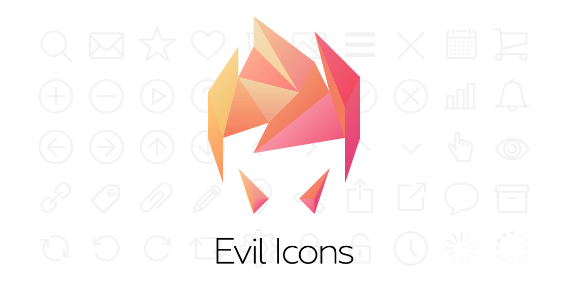GitHub - evil-icons/evil-icons: Simple and clean SVG icon