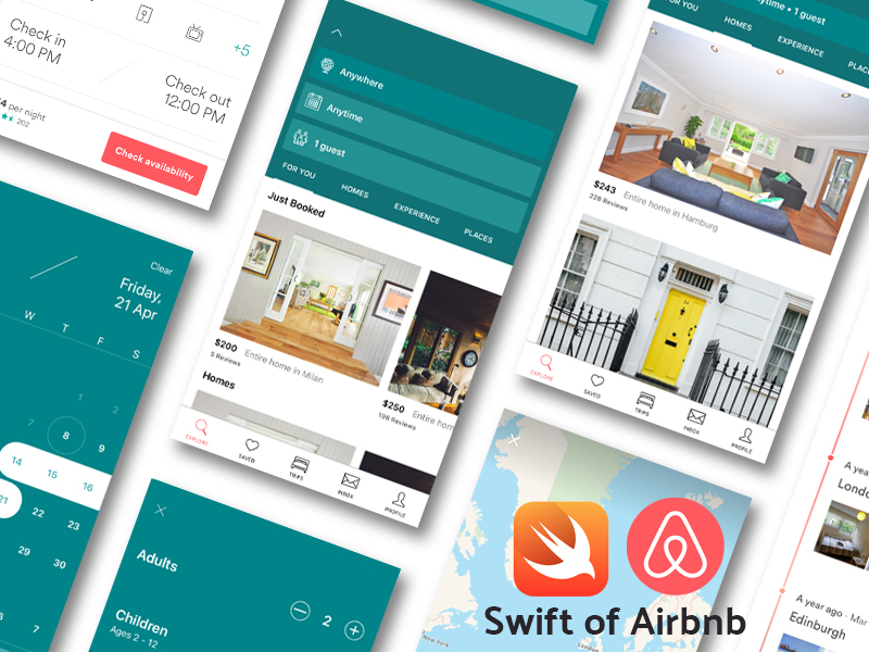 Github Yonasstephen Swift Of Airbnb A Self Taught Project Of