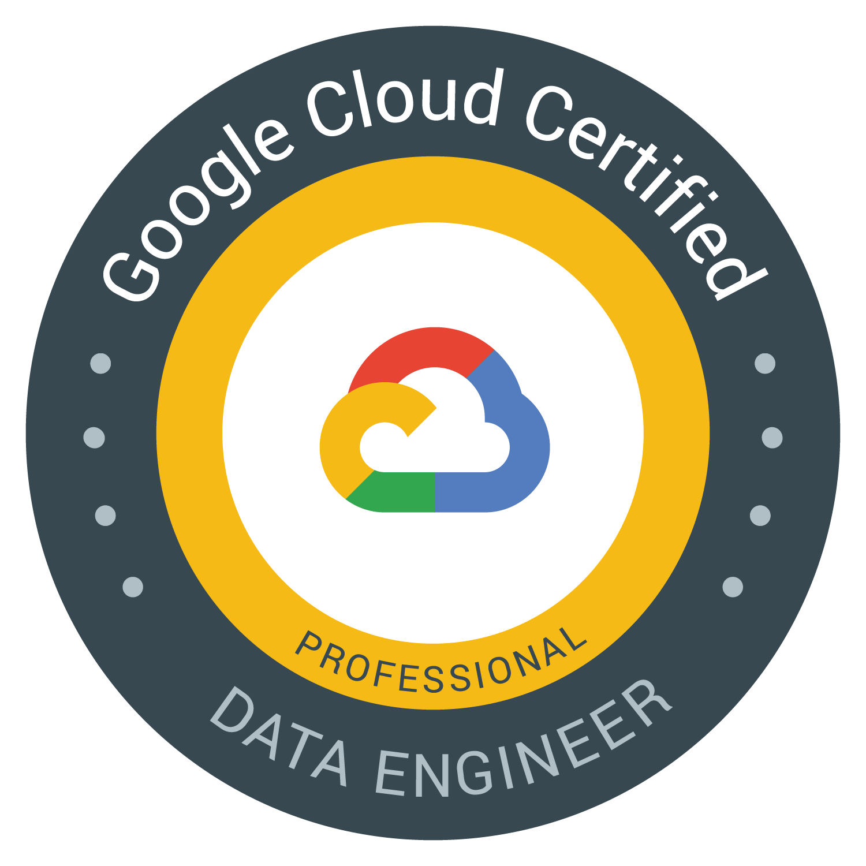 Google cloud Professional Data Engineer