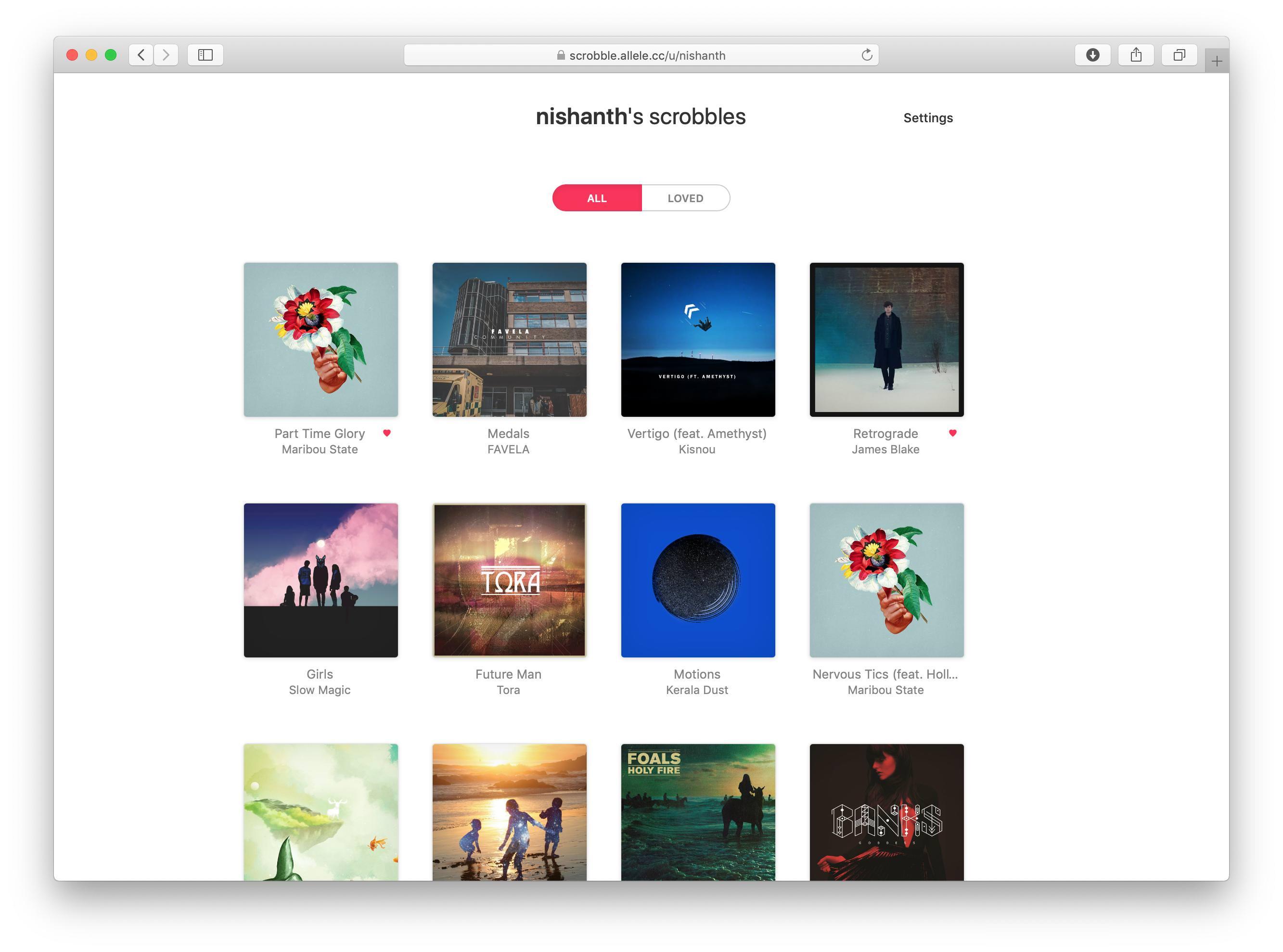 GitHub - nishanths/scrobble: Scrobbling for Apple Music