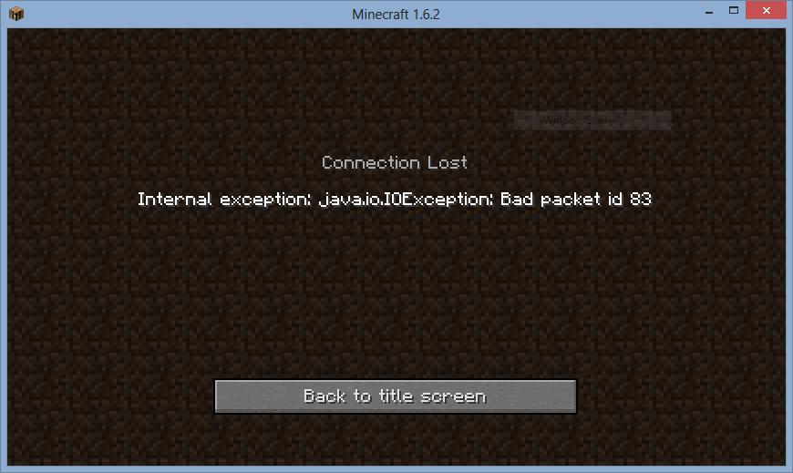 Connection Lost : Internal exception: java io IOException