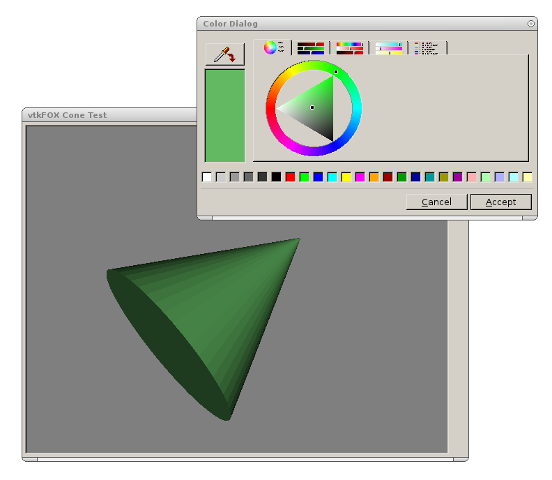 Cone sample app