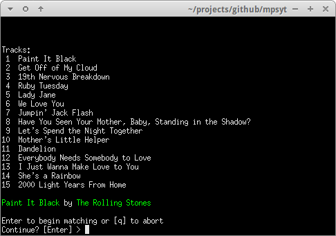 GitHub - mps-youtube/mps-youtube: Terminal based YouTube player and