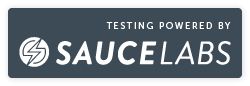 Testing Powered By SauceLabs