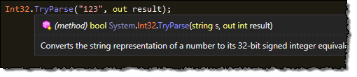 Tooltip Highlighting