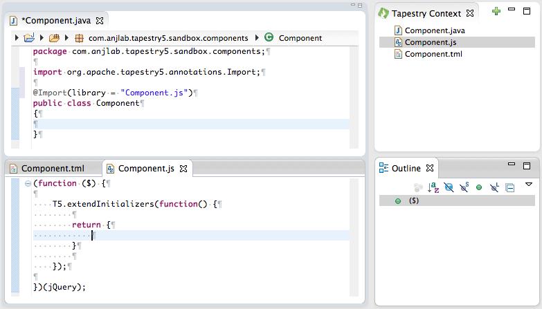JavaScriptContent