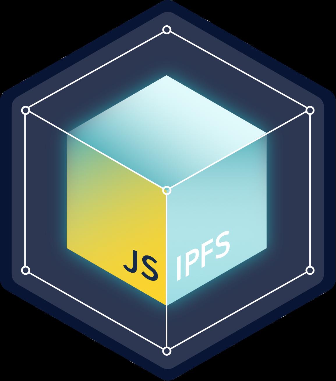 IPFS in JavaScript logo