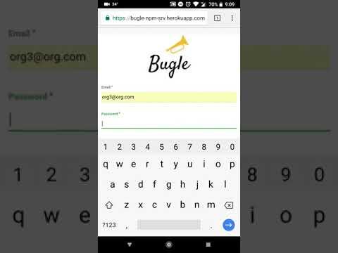 Bugle Video