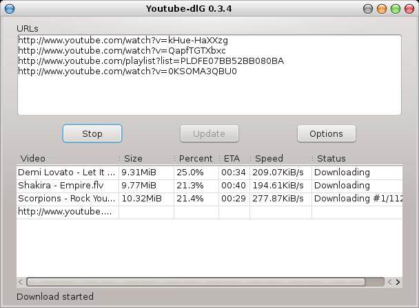 GitHub - pikzen/youtube-dl-gui: A cross platform front-end GUI of