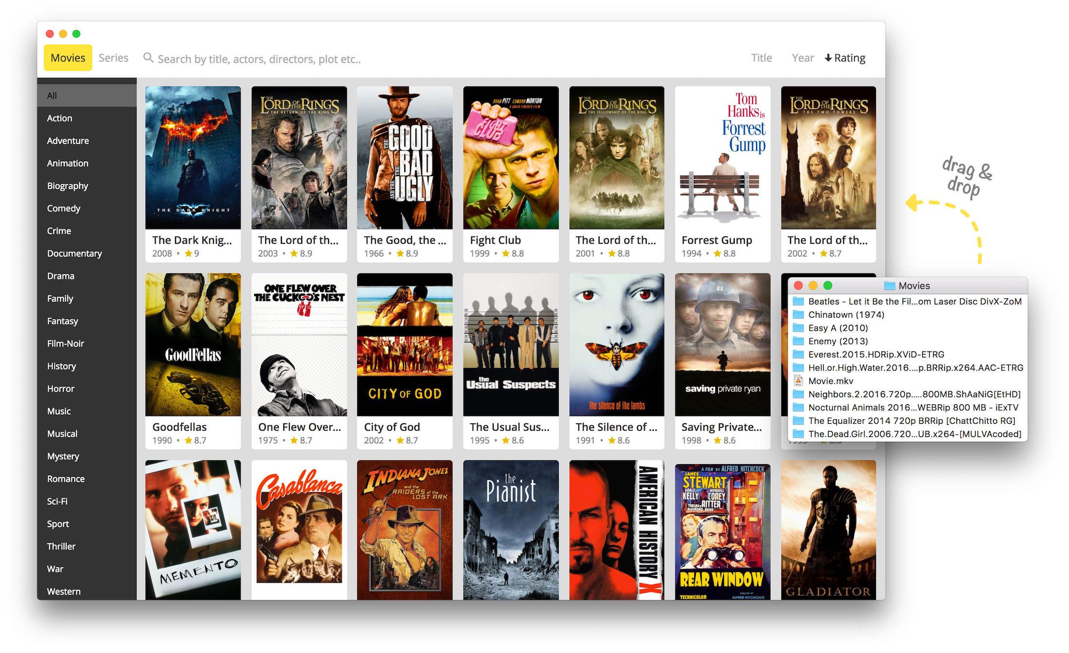 Movie Monkey Screenshot