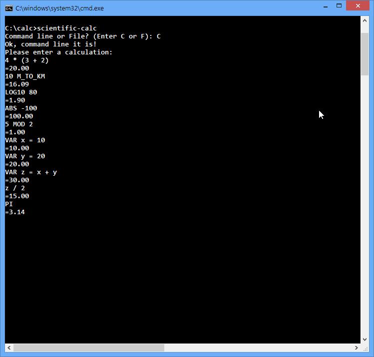 GitHub - Package/Bison-Flex-Calculator: CS Assignment