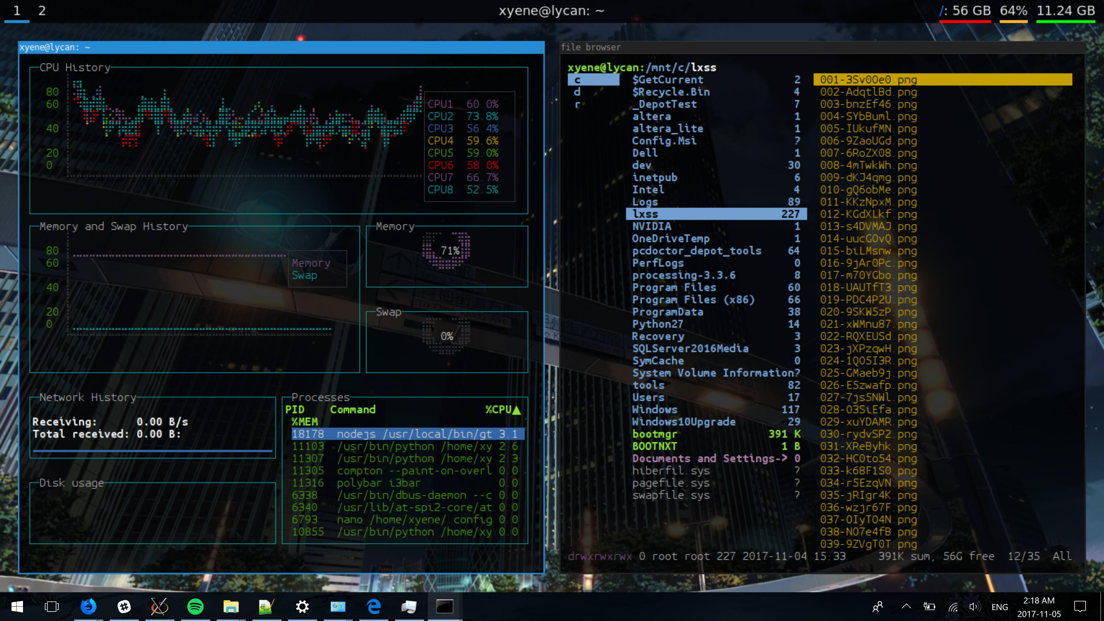 GitHub - Xyene/wsl-dotfiles: My dotfiles for running an i3