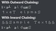 BFRedux Chaining