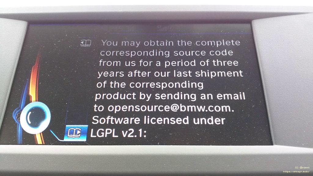 BMW GPL Email Address
