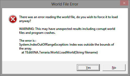 World File Error · Issue #518 · TEdit/Terraria-Map-Editor · GitHub