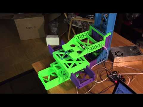 Snappy-RepRap Prototype Motion Test