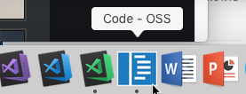 VS Code default icon
