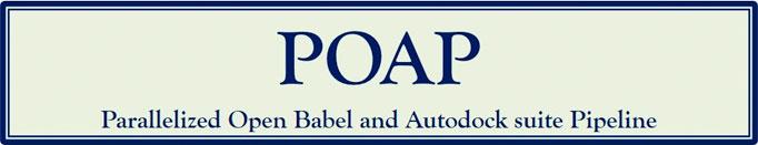 GitHub - inpacdb/POAP: Parallelized Open Babel & Autodock suite Pipeline