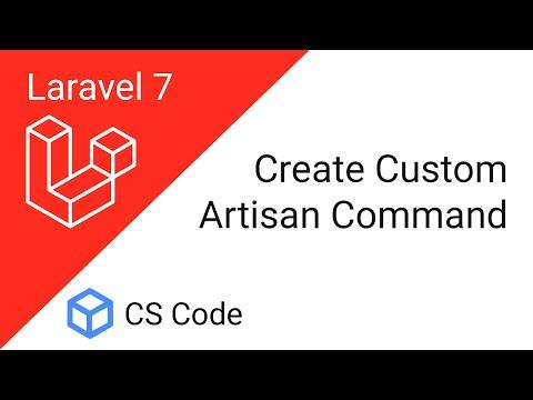 Create Custom Artisan Command