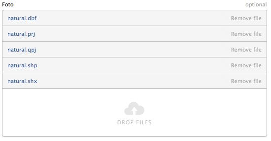 Multi File Upload UI