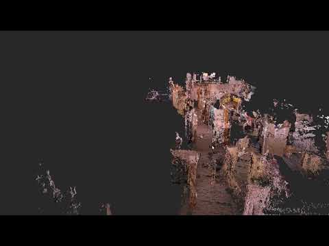 3D Point Cloud Generated by RealSense D435