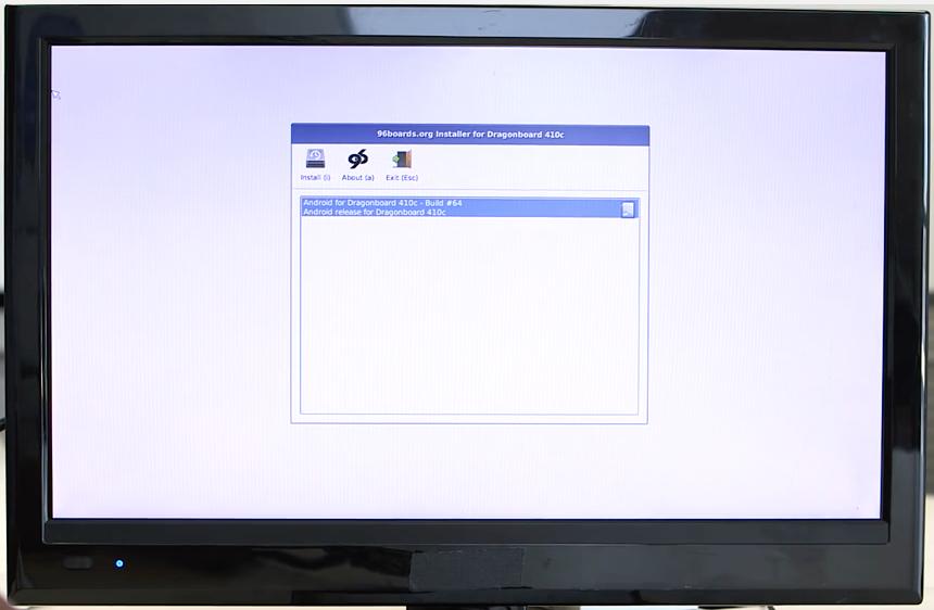 DragonBoard™ 410c Linux Install · sdrobertw
