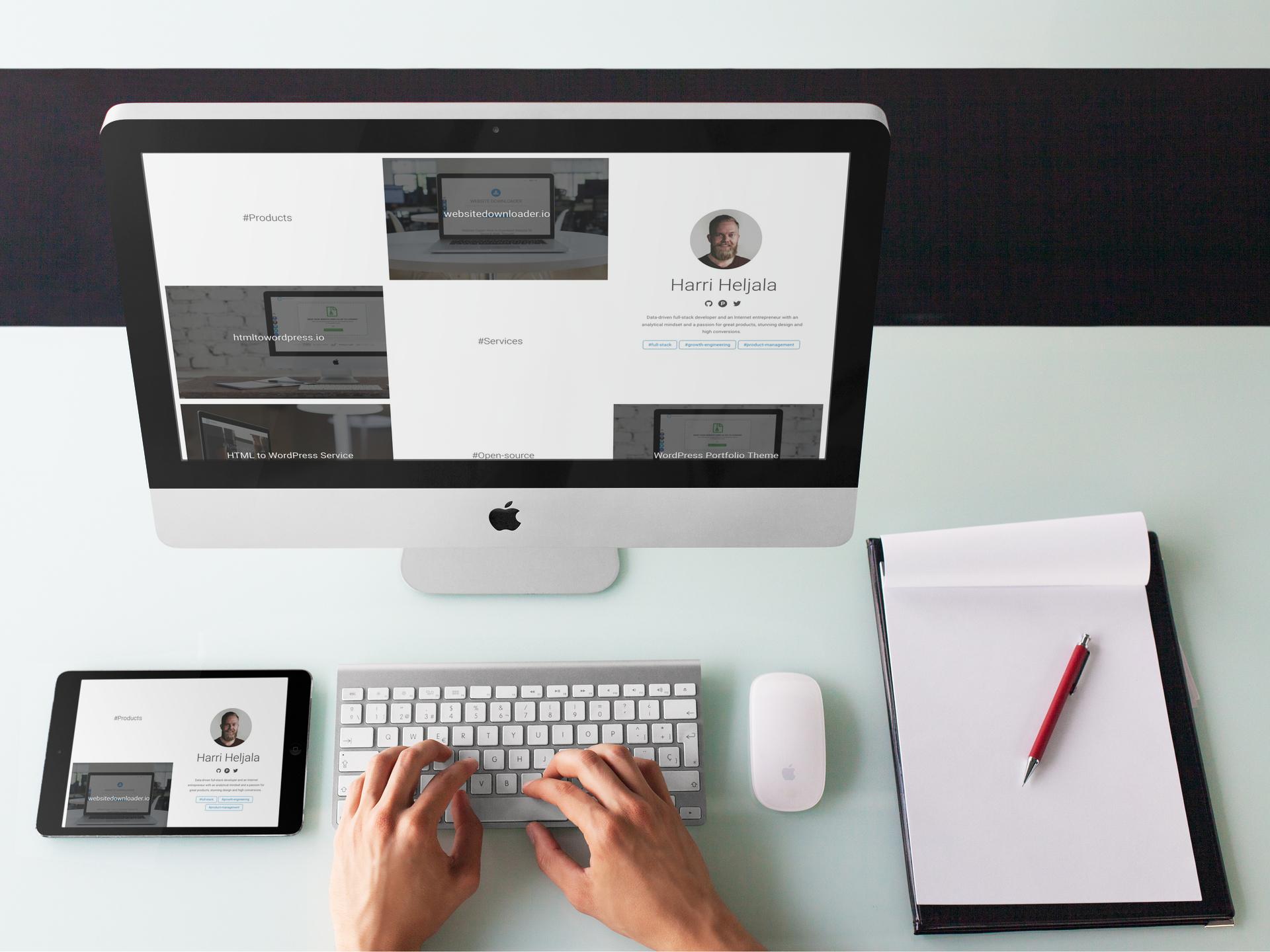 wordpress-portfolio-theme-helja-la