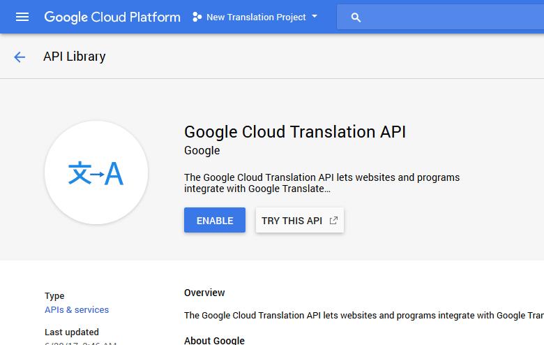 Generate a Google API Key · eddiesigner/sketch-translate-me Wiki