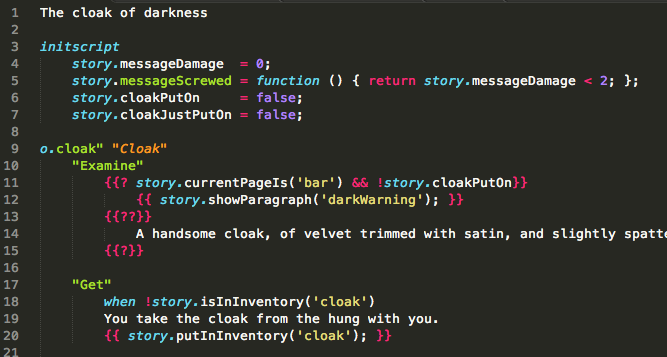 Dedlee syntax highlight
