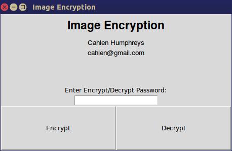 GitHub - cahlen/IMEncrypt: Python Image Encryption