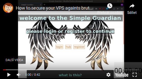 VIDEO: How to secure your VPS againts brute force attacks under one minute