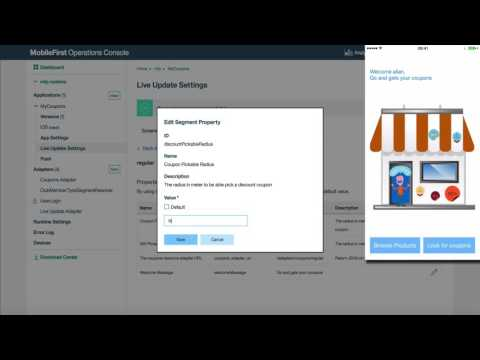 Gradual Feature Rollout with IBM MobileFirst Foundation 8.0