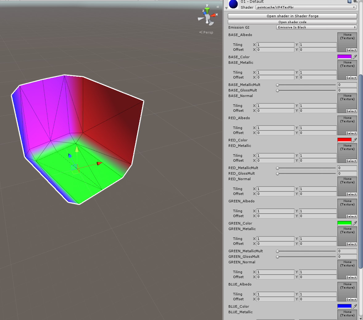 GitHub - pointcache/unity-vertexColor-pbr-shader: A set of