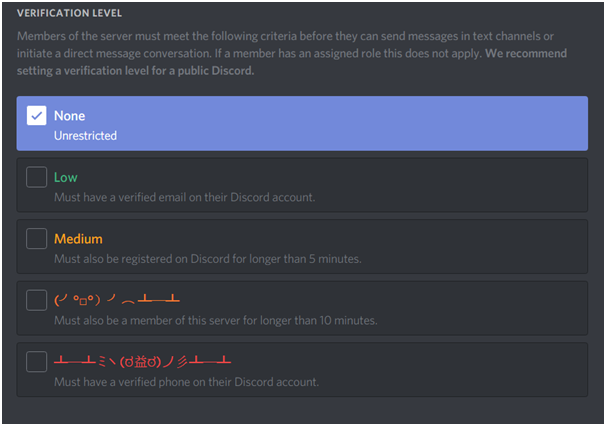 Make Discord more spam resistant · Issue #16 · decredcommunity