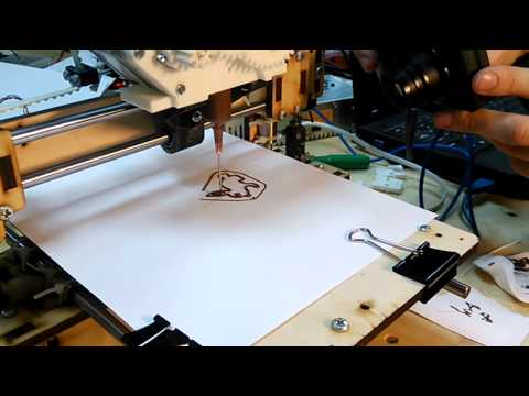 Шоколадный 3D-принтер
