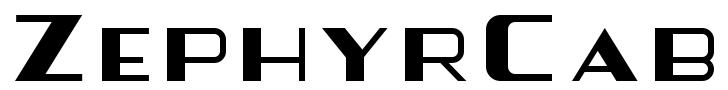 ZephyrCab Logo