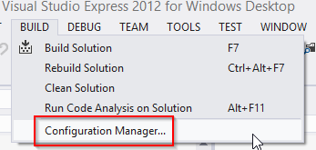 open-configuration-manager!