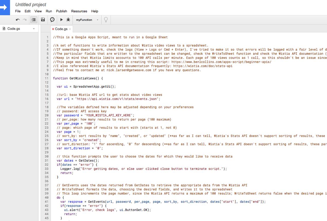 GitHub - DedekindCuts/wistia-api: A set of functions to get